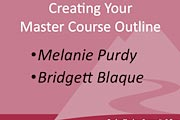 Master Course Outline screenshot