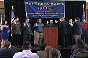 2013 PTK Officer Induction screenshot
