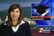 Local News Coverage of Commencement screenshot