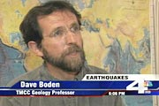 TMCC Geologist Dispels Earthquake Myths screenshot