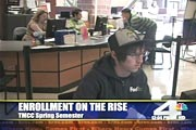 KRNV Reports Increased Enrollment at TMCC screenshot