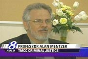 Professor Alan Mentzer Featured on KOLO screenshot