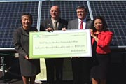 TMCC Receives Donation for Solar Lab screenshot