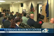 Veterans Center Opens - News Coverage screenshot